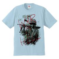 High Q Unisex American Vietnam War Punk Rock T shirt Tee T Shirt Casual hand painted War is Hell Punk Rock T shirt Tee Top
