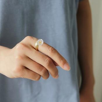 Natural Crystal Handmade Fine Flower Ring21