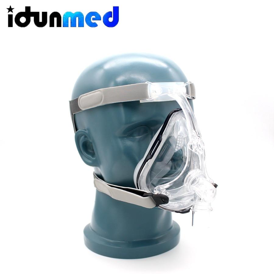 BMC CPAP BPAP APAP Full Face Mask S/M/L With Adjustable Strap For Sleeping Machine Sleep Apnea Anti Snoring Solution Treatment