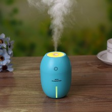 New Mini Usb Portable Ultrasonic Humidifier 180ml LemoDc 5v Led Light Air Purifier Mist Maker For