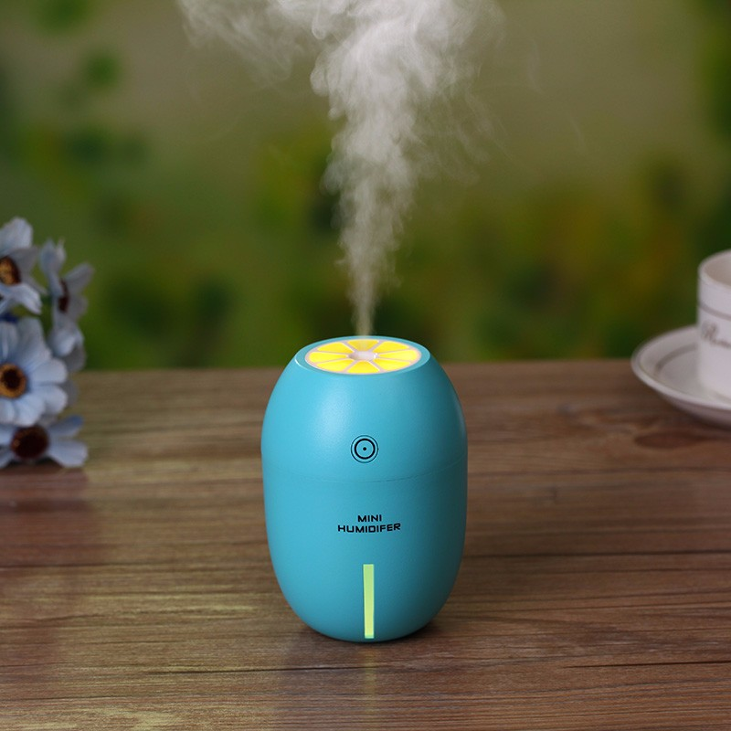 New Mini Usb Portable Ultrasonic font b Humidifier b font 180ml LemoDc 5v Led Light Air
