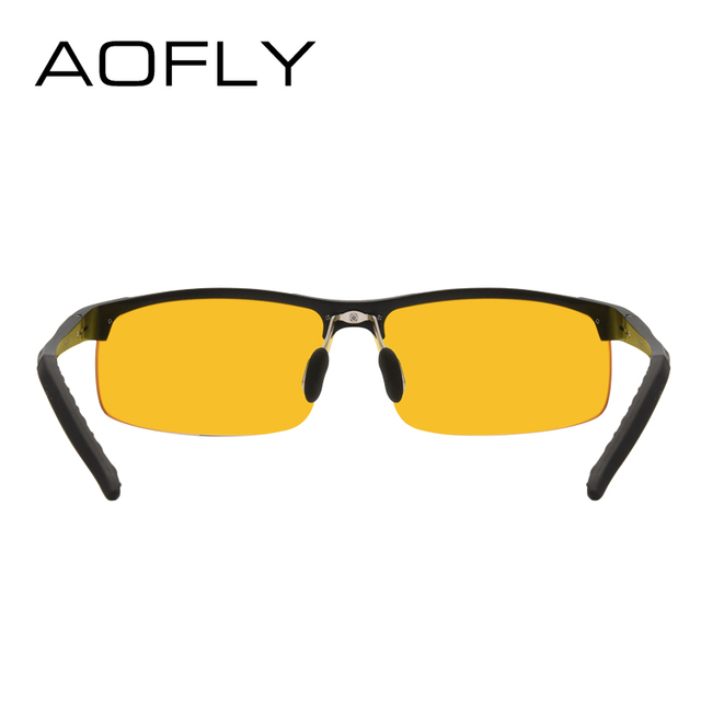 AOFLY Brand Design Anti-Glare Goggles Eyeglasses Polarized Sunglasses Yellow Lens Night Vision Driving Glasses Men Women AF8054 3