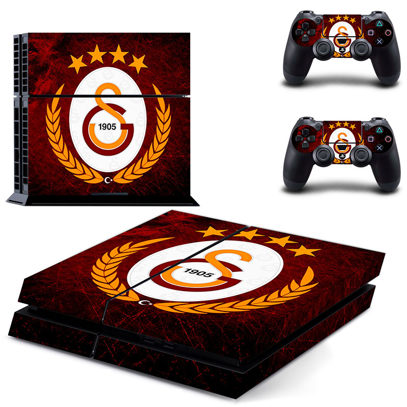 Galatasaray 1905 Football Team PS4 Skin Sticker Decal Vinyl for Sony Playstation 4 Console and 2 Controllers PS4 Skin StickerGalatasaray 1905 Football Team PS4 Skin Sticker Decal Vinyl for Sony Playstation 4 Console and 2 Controllers PS4 Skin Sticker