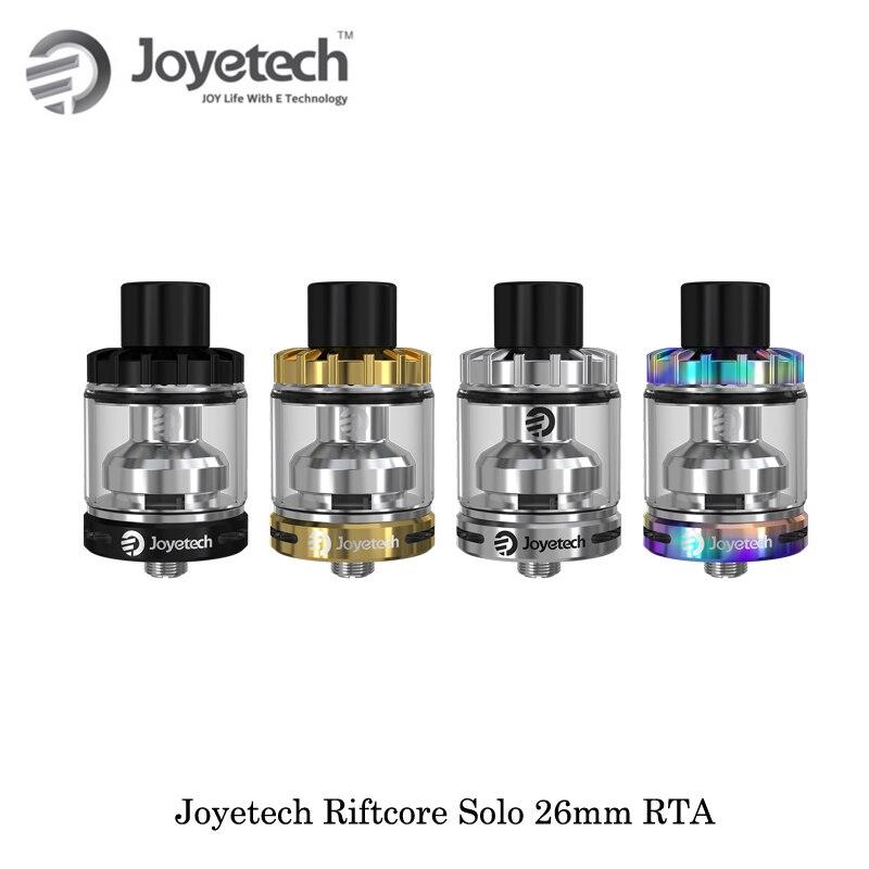 Cigarette électronique Joyetech Riftcore Solo 26mm RTA réservoir atomiseur 3.5 ml RFC réchauffeur auto-nettoyant Vape vaporisateur VS Riftcore Duo