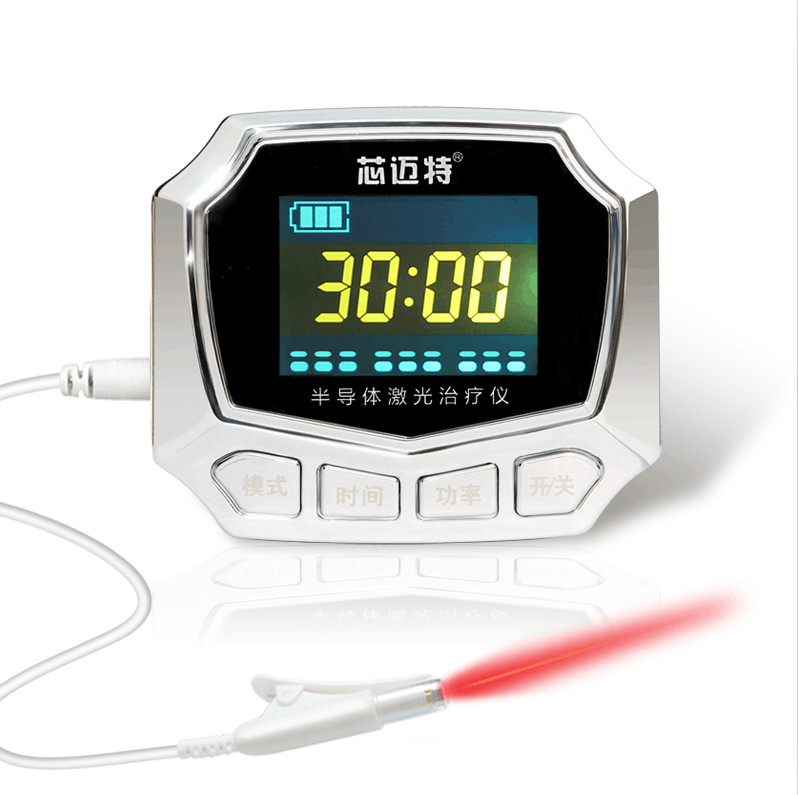 2016 Best Selling High Blood sugar Laser Therapy Watch for home use home wrist type laser watch low frequency high blood pressure high blood fat high blood sugar diabetes therapy