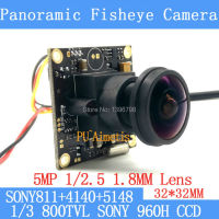 32 32mm 360Panoramic Fisheye Camera 800TVL 1 3 Effio E CCD Sony 811 4140 5148 CCTV