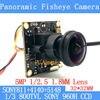 32 32mm 360Panoramic Fisheye Camera 800TVL 1 3 Effio E CCD Sony 811 4140 5148 CCTV
