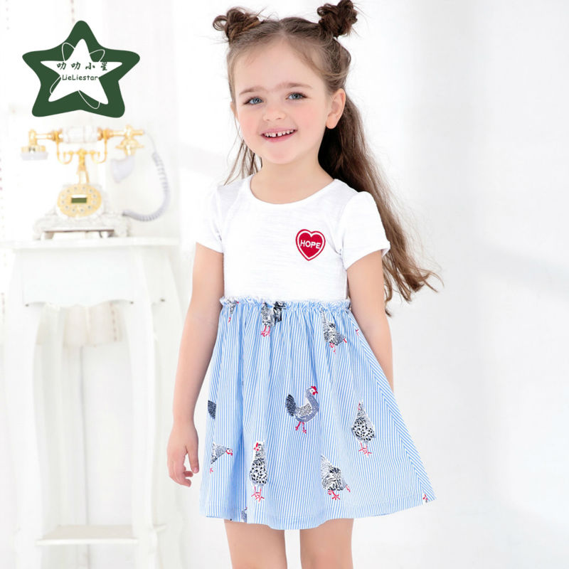 Baby Girl Dress Children Summer Costume Fashion Kids Fancy Clothes 2017 New Style Infant Princess Dresses Girls Party Clothing 2017 summer cute style baby girls clothing princess ruched dress children s clothes costumes for kids infant party bow dresses