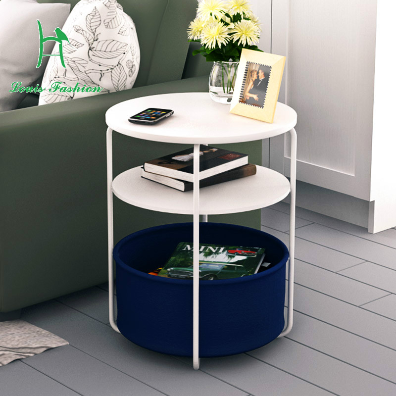US $45.99 |Simple small tea table fashion several modern corner sofa side  table telephone table round mini telephone a few small table-in Coffee ...