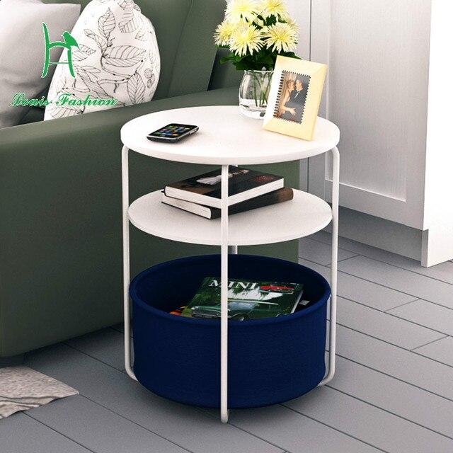 Simple Small Tea Table Fashion Several Modern Corner Sofa Side Table  Telephone Table Round Mini Telephone