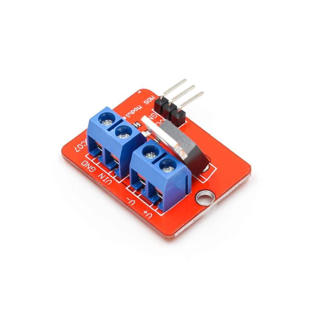 0-24V למעלה Mosfet כפתור IRF520 MOS נהג מודול MCU ARM פטל pi