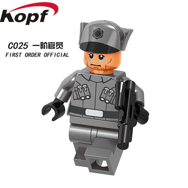 Single Sale Space Wars Rey Luke Skywalker Sabine Wren Ahsoka Tano  Snowtrooper Bricks Building Blocks Children Gift Toys C023-030 63cd00951a5e