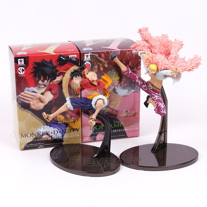 One Piece Monkey D Luffy Doflamingo SCultures BIG Banpresto Colosseum VI Vol.3 normal ver. Figure Collectible Model Toy палатка normal виктория 3