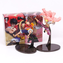 One Piece Monkey D Luffy Doflamingo SCultures BIG Banpresto Colosseum VI Vol.3 normal ver. Figure Collectible Model Toy