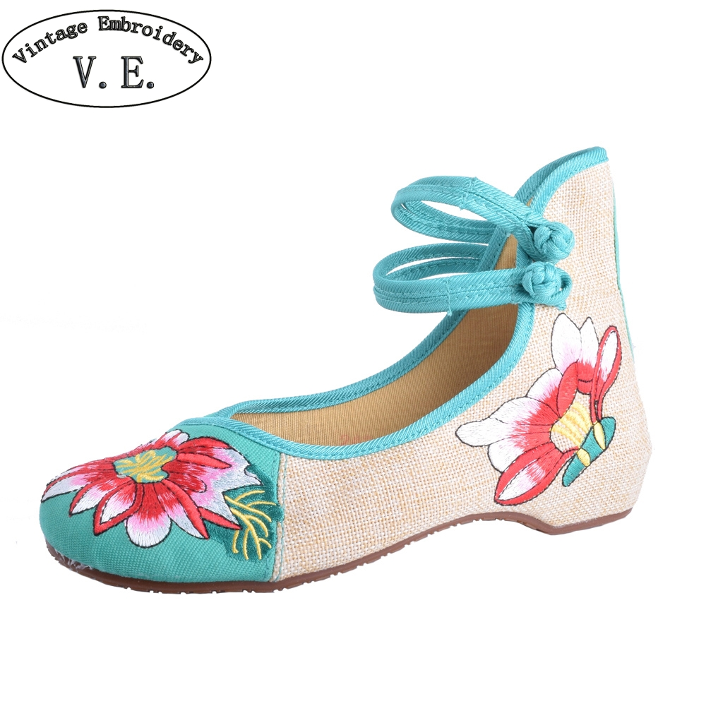 Chinese Women Flats Old Peking Cloth Shoes Chinese Totem Flats Mary Janes Embroidery Casual Shoes Dance Ballet Shoes For Woman chinese women flats shoes flowers casual embroidery soft sole cloth dance ballet flat shoes woman breathable zapatos mujer
