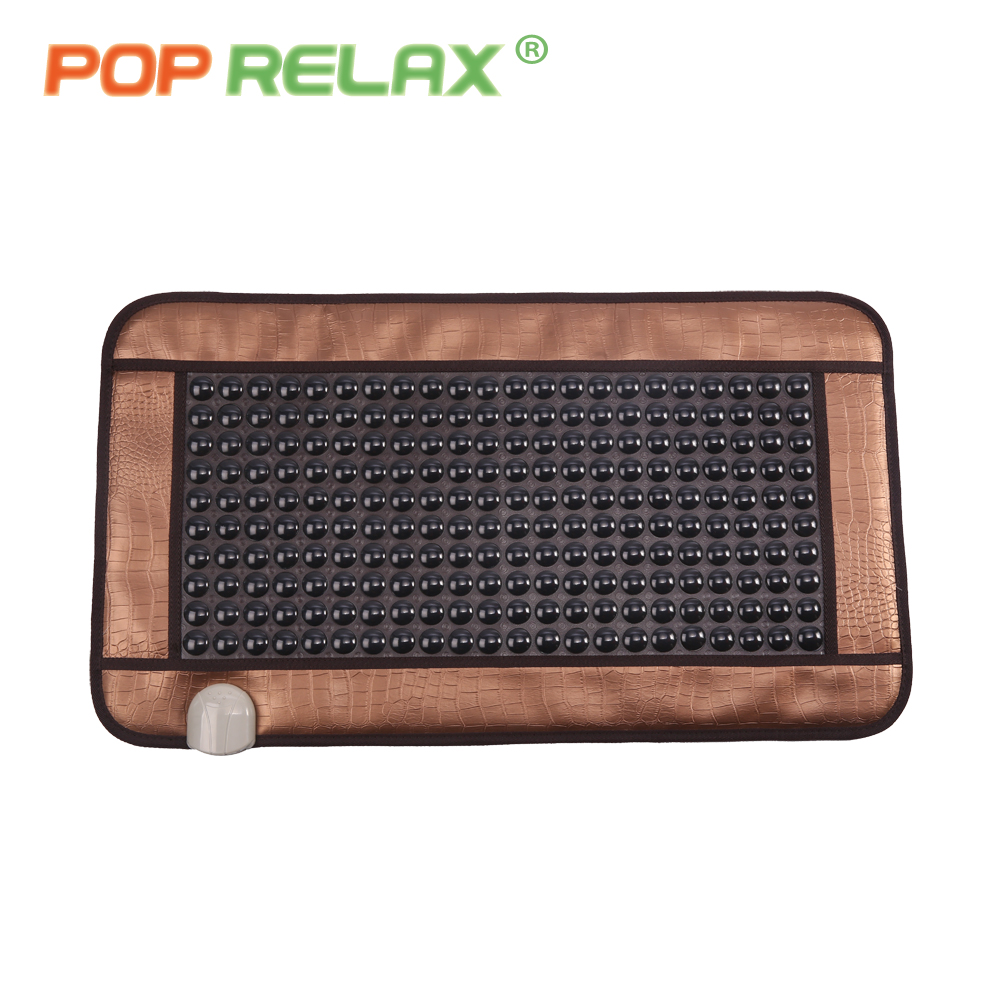 POP RELAX turmalin sten massage mat anion långt infraröd värme - Sjukvård - Foto 4