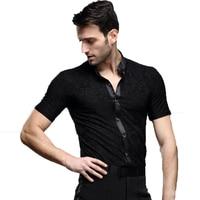 mens dancing shirts men's latin shirt mens ballroom shirts men's latin dance costumes dance top mens ballroom clothes dancewear