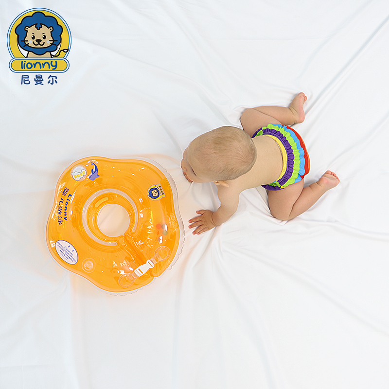 Baby Swim Neck Ring Inflatable Circle Infant Swimming Accessories Swimming Neck Kids Tube Ring Safety Floating Circle Bathing