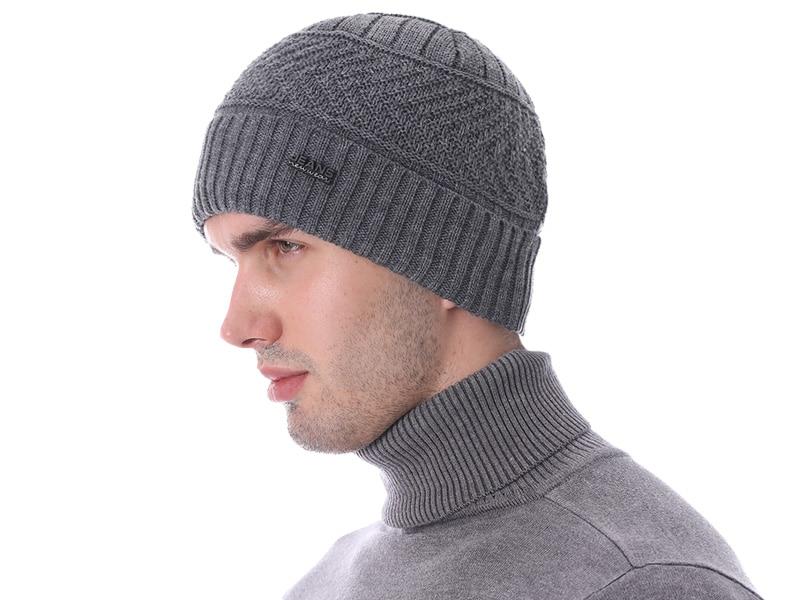 قبعات مع وشاح للرجال 18