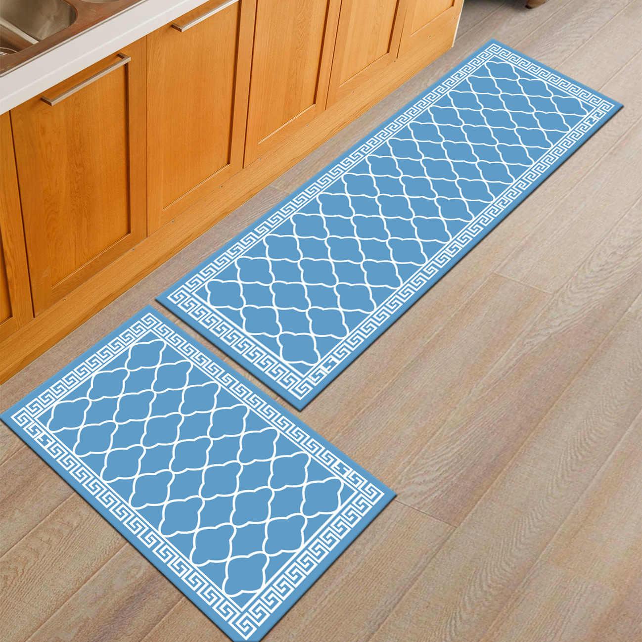 Zeegle впитывающие коврики Открытый антискользящий ванная ванна коврики для спальни прикроватные коврики диван-стол пол коврик кухонный уголок коврик
