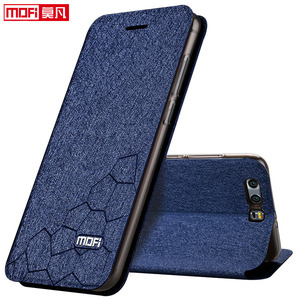 Image 2 - flip case for Huawei honor 9 case stand Honor 9 Cover leather back silicon book Mofi glitter luxury huawei honor 9 case business