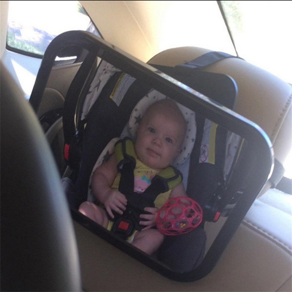 Hot Car Safety Wide View Back Seat Mirror Rear Child Infant Care Safety Baby Kids Monitor