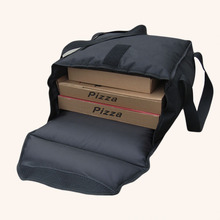 36*36*18 см сумка для доставки еды для 8-13 дюймов пиццы теплоизоляционная сумка для доставки пиццы-черный цвет