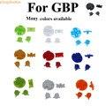 ChengHaoRan 15 цветов 1 набор цветных сменных кнопок набор замена для Gameboy Pocket GBP кнопка вкл./выкл. AB кнопки D колодки