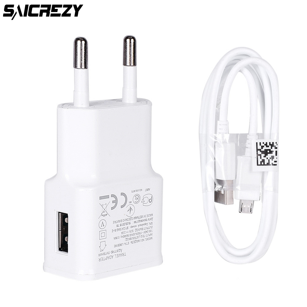 Universal USB Phone Charger For Samsung A2 J2 J4 Core Xiaomi Huawei Meizu HTC EU Plug Travel Wall Fast Adapter Mobile Chargers