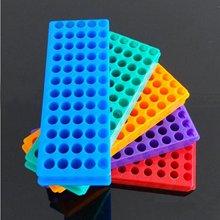 5 sztuk Tube Rack podwójny Panel 60 pozycji polipropylen PCR do probówek mikrowirówkowych 0.2/0.5/1.5/1.8/2.0ml