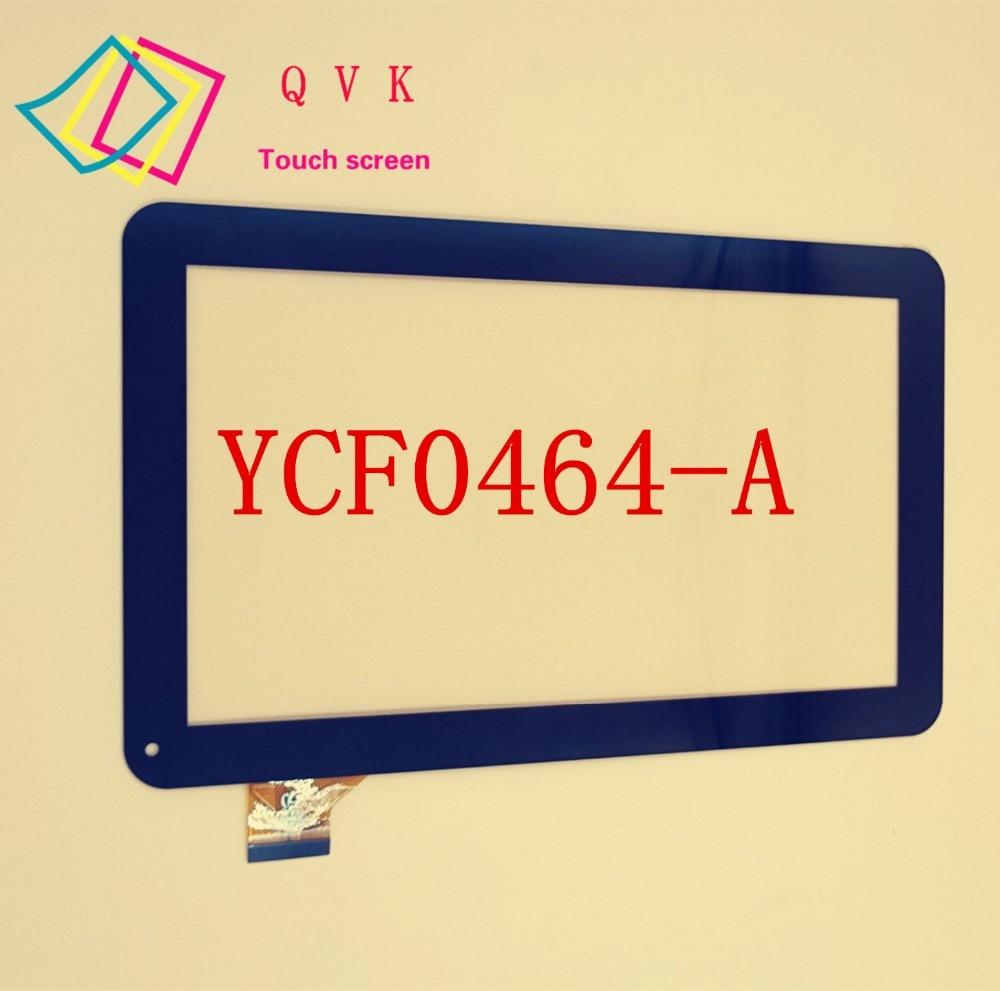 10.1 pulgadas YCF0464 YCF0464-A para las ostras T12 T12D T12V 3G Tablet PC-una capacitancia de pantalla táctil capacitiva externa panel