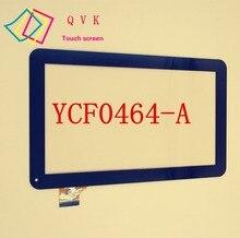 10.1 pulgadas YCF0464 YCF0464-A para ostras T12 T12D T12V 3G tablet pc-Una capacitancia de la pantalla táctil capacitiva externa panel