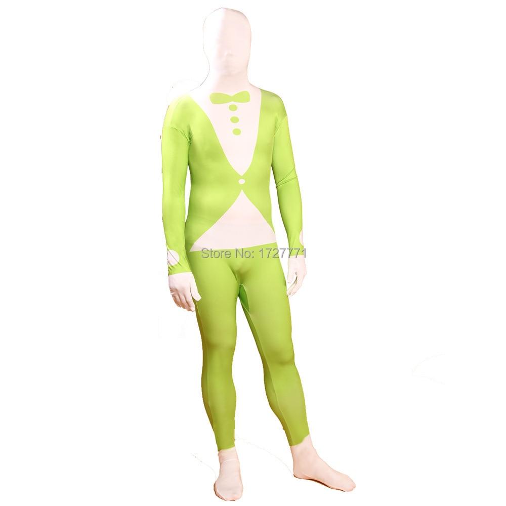 (jxy043) Full Body Lycra Spandex Zentai Suit Motivo Della Tuta Halloween Costume Party