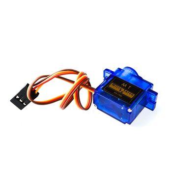 Eletrônica inteligente 1 pçs rc mini micro 9g 1.6 kg servo sg90 para rc 250 450 helicóptero avião carro barco