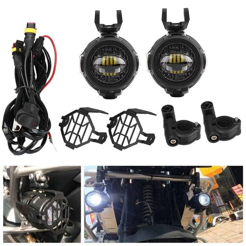 Feux antibrouillard de moto FADUIES pour BMW moto LED lampe de conduite antibrouillard auxiliaire pour BMW R1200GS/ADV K1600 R1200GS R1100GS - 5