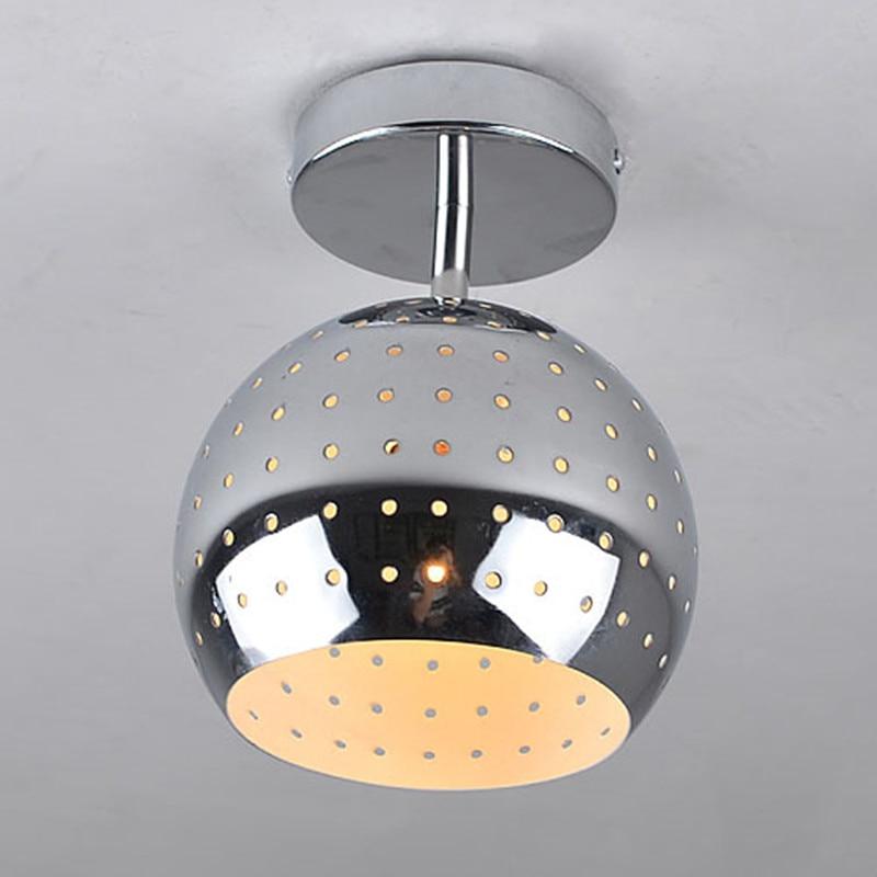Nowoczesne Metalowe Okrągłe Lampy Sufitowe Przedpokój