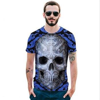 2018 новые Harajuku Волк 3D принтом крутая футболка Для мужчин/Для женщин короткий рукав лето Футболки Футболка Модные S-2XL