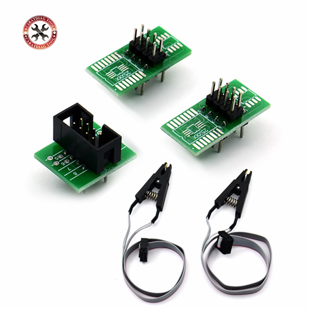 3pcs Lot New Keyless Entry Ews Remote Control Circuit Board 3 Button Infrared Launch Remotecontrolcircuit Newest Soic8 Sop8 Test Clip For Eeprom 93cxx 25cxx 24cxx In Programming