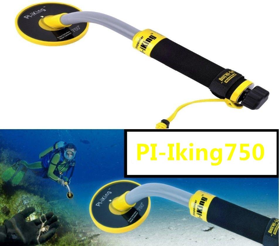 High Sensitivity Metal Detector 30M Underwater Waterproof Pulse Induction Detection Depth Stability Vibration Alarm Mode