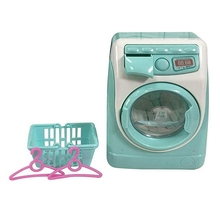 Mini Educational Simulation Washing Machine Toys Kids Play House Pretend Toy For Children'S Day Gift simulation rc battle tank toy 516 voiced mode and unvoiced mode switch 2 colors optional educational toy kids best gift toy play
