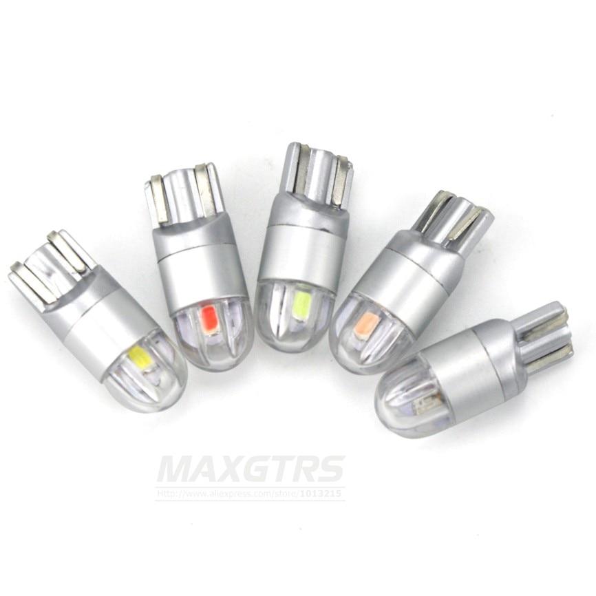 2x T10 168 194 W5W CREE çip dəyişdirmə lampaları üçün - Avtomobil işıqları - Fotoqrafiya 2