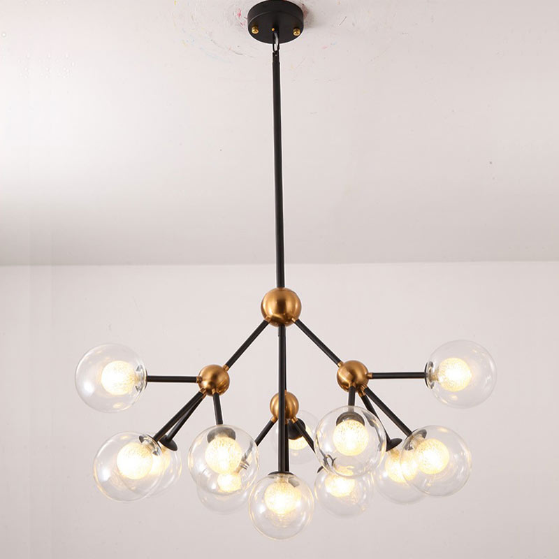 Modern Glass Design Led Lamp Chandeliers Ceiling Living Room Bedroom Dining Room Light Fixtures Decor Home Lighting G9 220V ceiling lighting minimalist modern balcony study bedroom lighting led intelligent atmospheric living room dining room
