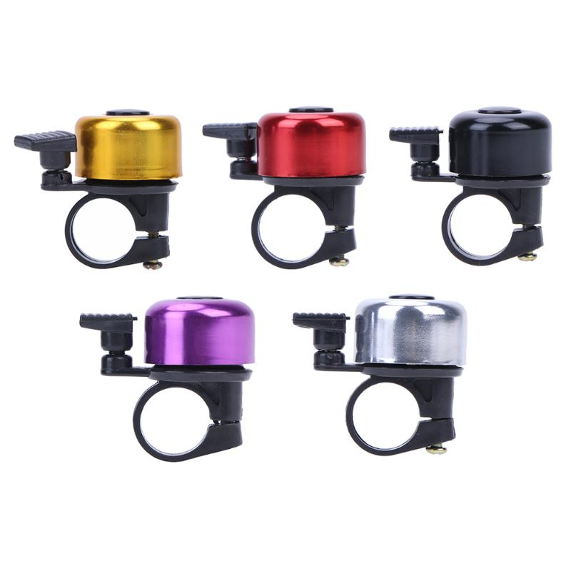 Aluminum Alloy Bicycle Bell MTB Mountain Road Bike Ordinary Bell Sound Bike Handlebar Ring Horn Alarm Warning Bicycle Accessory