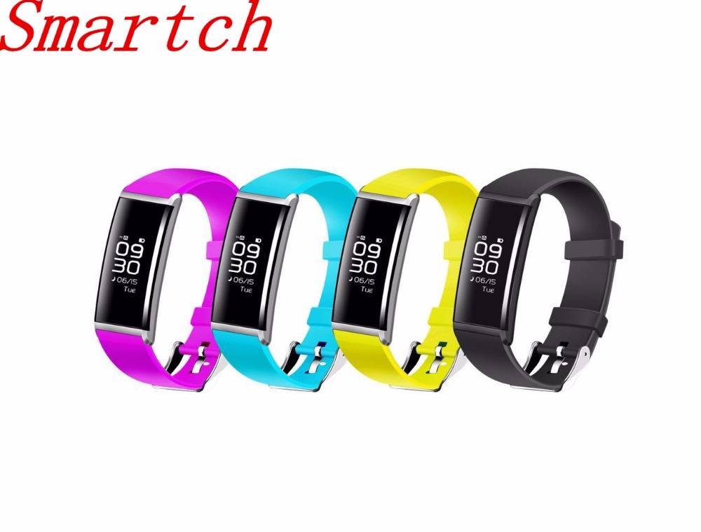 Smartch X9 Smart Bracelet Heart Rate Smart Band Blood Pressure Monitor Smart Wristband Fitness Tracker Smartband