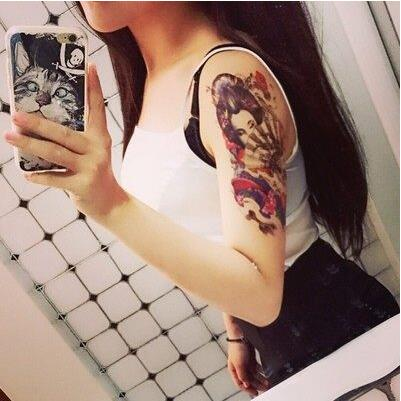 Sexy geisha tattoos