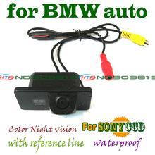 Для SONY CCD Автомобильная Камера Заднего вида Для BMW 3/5/6 Серии X3 X5 E87 E90 E91 E92 E60 E61 E39