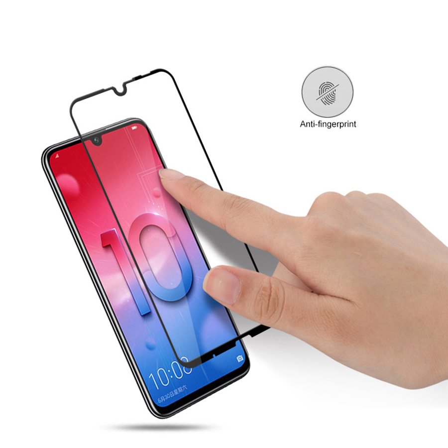 9H Full Cover Full Glue Tempered Glass For Honor 10 Lite View 20 For Huawei P Smart Y9 Y7 Y6 Pro Prime 2019 9D Screen Protector in Phone Screen Protectors from Cellphones Telecommunications