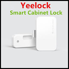 New Original Xiaomi MIjia YEELOCK Smart Drawer Cabinet Lock Keyless Bluetooth APP Unlock Anti-Theft Child Safety File Security(China)