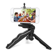 New Portable Camera Table Tripod For GoPro Hero 6 5 4 3 SJCAM SJ4000 Xiaomi Yi 4K Sony DSLR SLR Light Phone Tripod Stand(China)