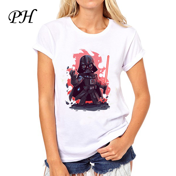 Star Wars Women T-Shirt – Darth Vader Cartoon